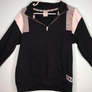 PINK VS quarter zip sweater